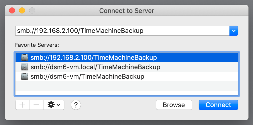 finder, connect to server, macos 10.15 catalina