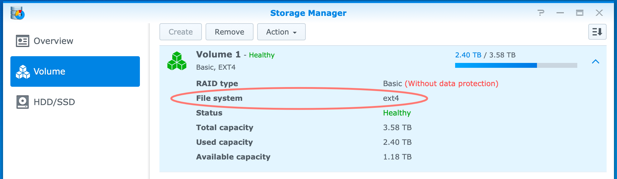 synology, storage manager, ext4, install wordpress on synology