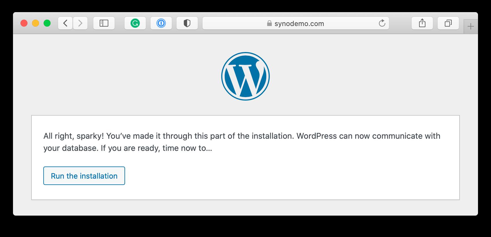 wordpress, setup-config script